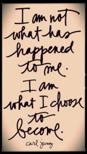 I am not what has happened to me